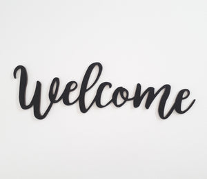 Welcome (new script)