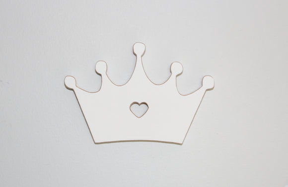 Crown decor - wall art - wooden crown - princess decor - girl decor