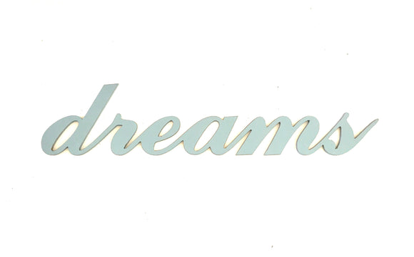 wooden words -dreams sign - wooden sign - wedding decor