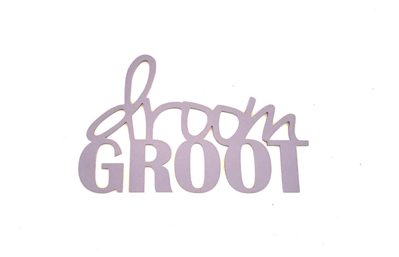 droom groot - wooden sign - afrikaans decor