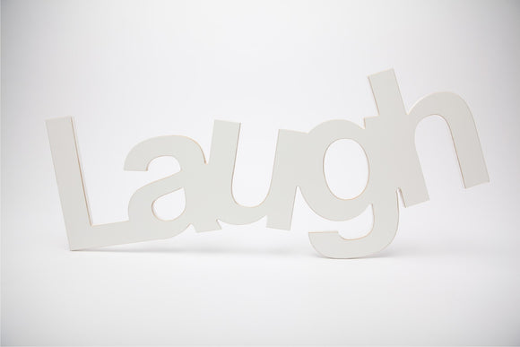 laugh bold