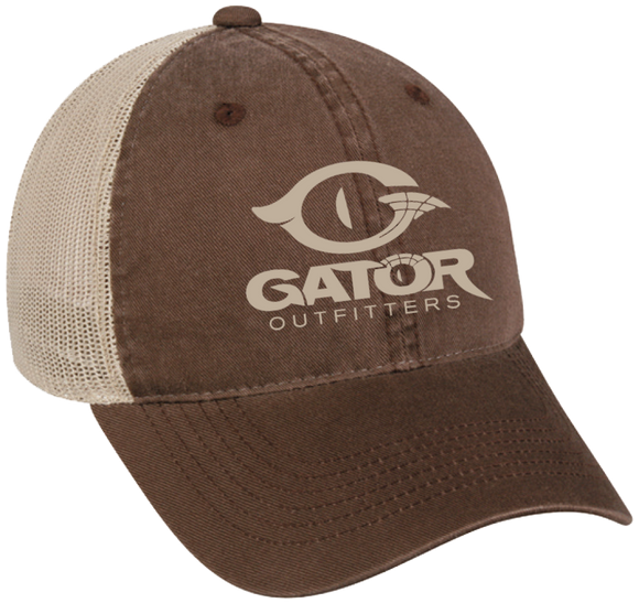 Logo Trucker Cap- Chocolate / Tan