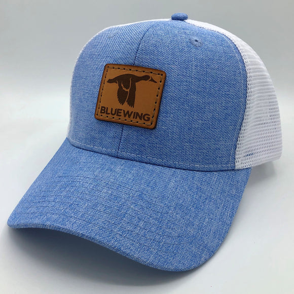 BLUE WING Light Blue Slate w/Tan Leather Patch