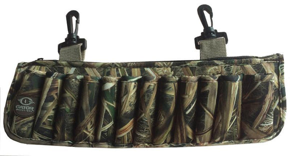 NEOPRENE CLIP ON SHELL HOLDER- MOSSY OAK BLADES