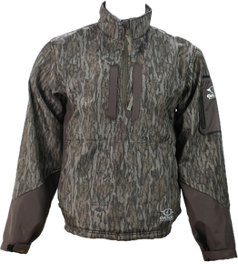 Waterfowl SoftShell Pullover- NEW Mossy Oak Bottomland