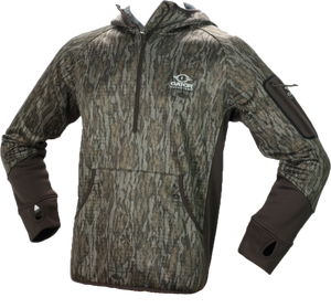 Waterfowl Smooth Fleece Hoodie- NEW Mossy Oak Bottomland