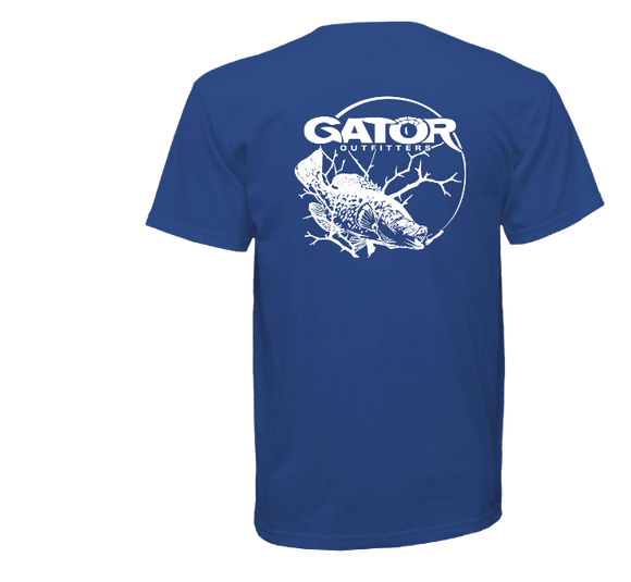 Gator Sacalait Series Tee- ROYAL BLUE
