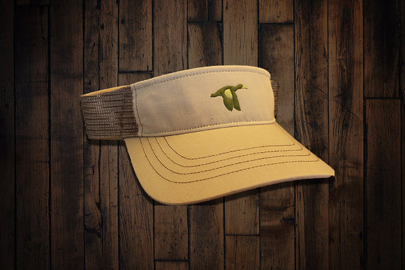 Blue Wing Visor - Tan 2 Tone