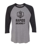 Dark Grey/Black Raglan