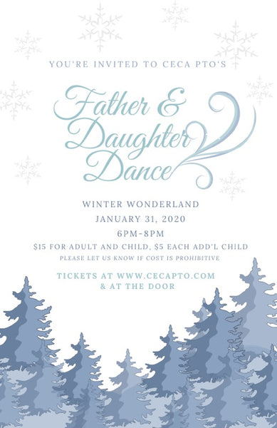 Father & Daughter Dance - Winter Wonderland