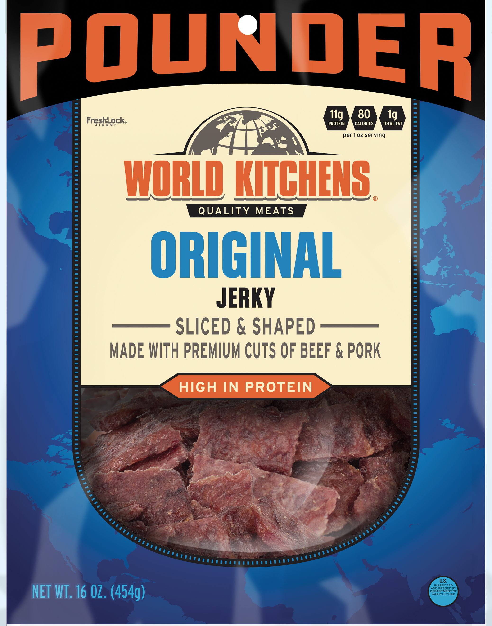 World Kitchen's Original 16oz Jerky