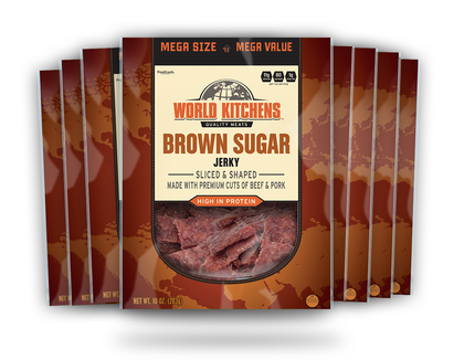 10oz World Kitchen's Premium Jerky - Brown Sugar
