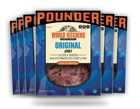 16oz World Kitchen's Premium Jerky - Original