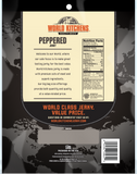 World Kitchen's 16oz Peppered Jerky Back