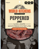 World Kitchen's 3oz Peppered Jerky Front