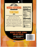 World Kitchen's 3oz Teriyaki Jerky Back