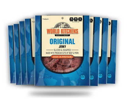 World Kitchen's 3oz Original Jerky 8ct