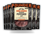 World Kitchen's 16oz Peppered Jerky 6ct