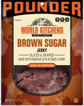 16oz World Kitchen's Premium Jerky - Brown Sugar