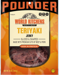 World Kitchen's 16oz Teriyaki Jerky Front