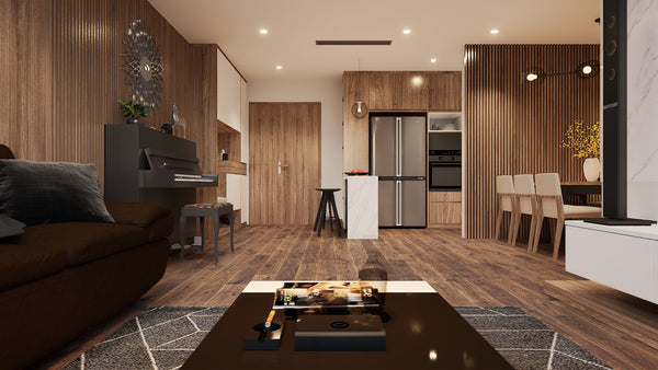Fully RAYTRACED Kitchen+Living Room in Unreal Engine 4 25. COMPLETE PROJECT.