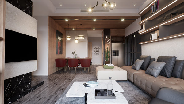 Living room Interior UE4_FULL_PROJECT
