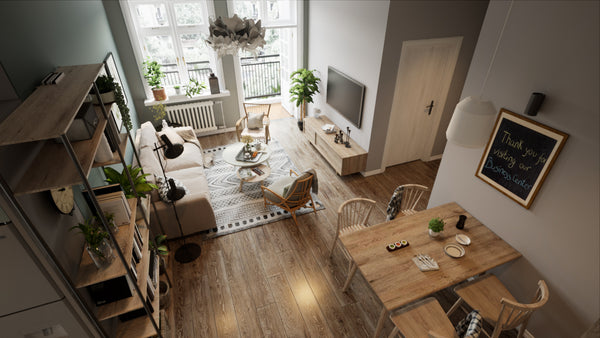 Scandinavian House Photorealistic Realtime Visualization in