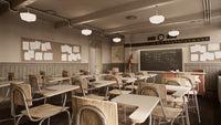 Blender Classroom in Unreal Engine Demo EXE