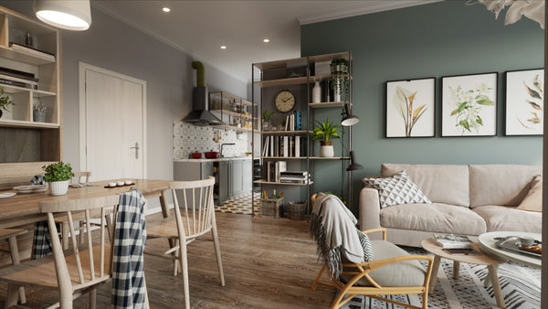 Scandinavian House in Unreal Engine_FULL_PROJECT