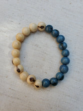 Load image into Gallery viewer, Blue Moon Half and Half Bracelet