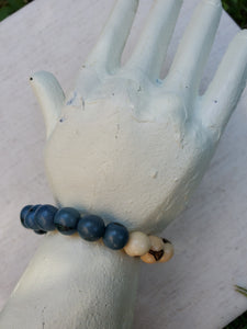 Blue Moon Half and Half Bracelet