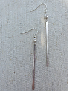 Pearl Matchstick Earrings