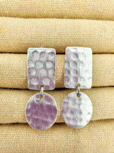 Load image into Gallery viewer, Hammered Shapes Earrings