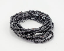 Load image into Gallery viewer, Seed Bead Stacking Bracelets - Black