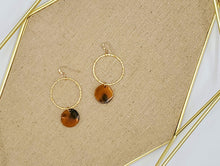 Load image into Gallery viewer, Leyla Earrings - Caramel