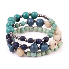 Load image into Gallery viewer, Sky Blues Tuscan Bracelet