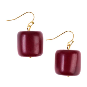 Rio Red Warhol Earrings