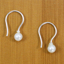 Load image into Gallery viewer, Dainty Pearl Drop Earrings