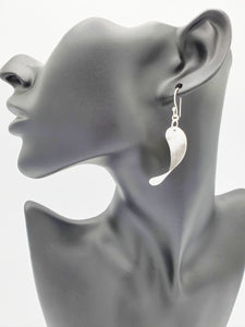 Twisting Oval Earrings