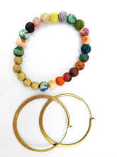 Load image into Gallery viewer, Organic Hoops - Gold