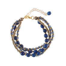 Load image into Gallery viewer, Strength Blue Barcelona Bracelet