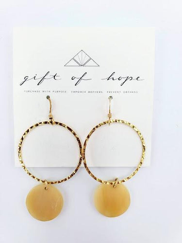 Leyla Earrings - Ivory
