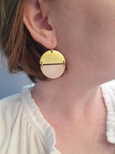 Load image into Gallery viewer, Sand Orleans Earrings