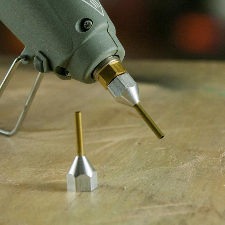 Needle Extension Nozzle for Hot Melt Glue Guns