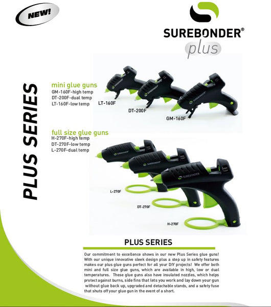 Surebonder Plus Series Glue Guns
