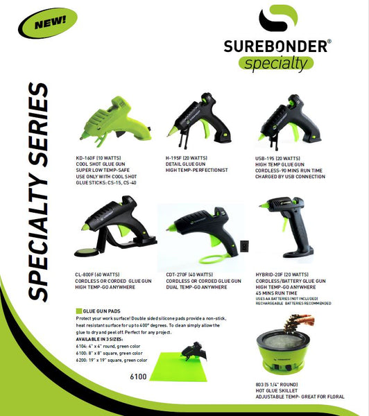 Surebonder Specialty series glue guns