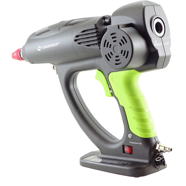 "Surebonder Spray-500 500 Watt Hot Melt Spray Glue Gun - Uses oversize, 5/8"" glue sticks"