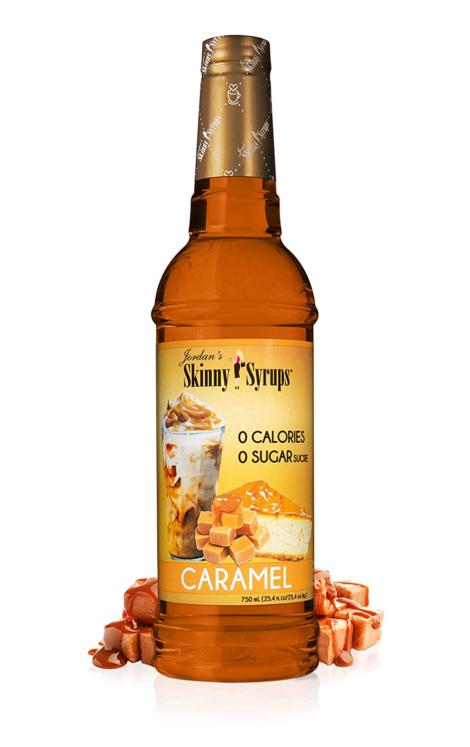 Skinny Syrups - 0 Calories - 0 sugar - 750ml