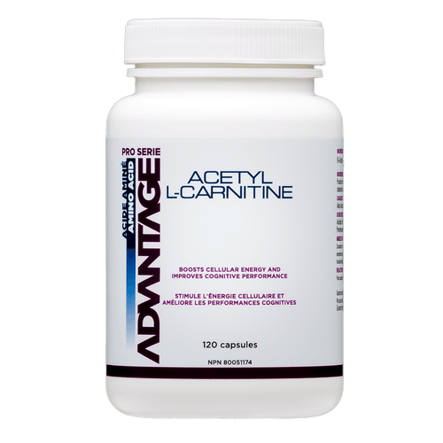 Advantage Acethyl L-Carnitine 120 caps