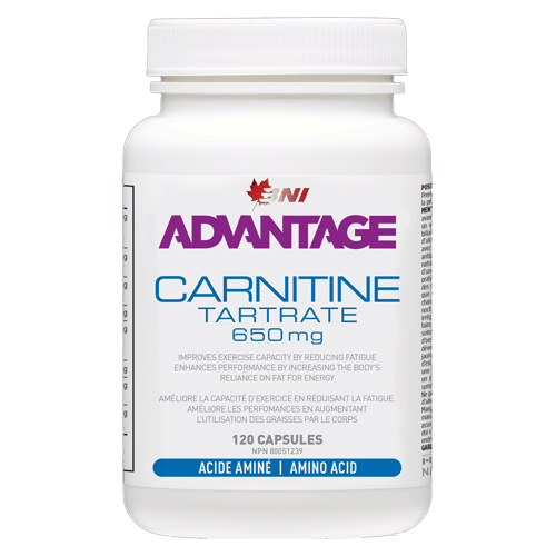 Advantage L-Carnitine Tartrate 120 caps